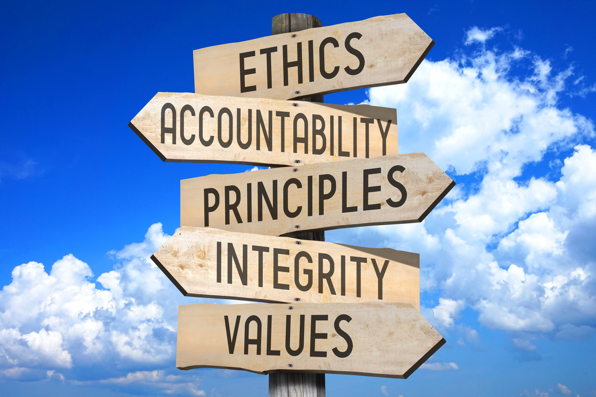 ethics and morals of the business Read this south source article about business ethics and ethical principles for  executives.