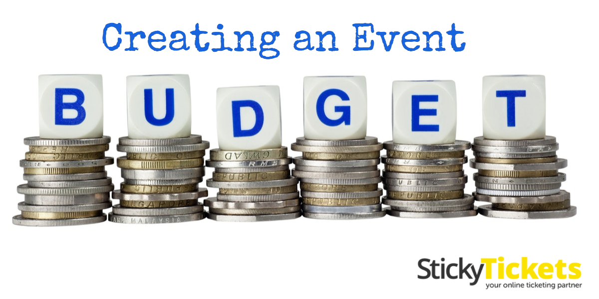 Online ticketing, event budget, creating event